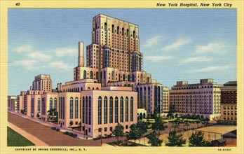 New York City Hospital, New York, USA, 1933. Artist: Unknown