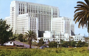 Los Angeles County General Hospital, Los Angeles, California, USA, 1953. Artist: Unknown
