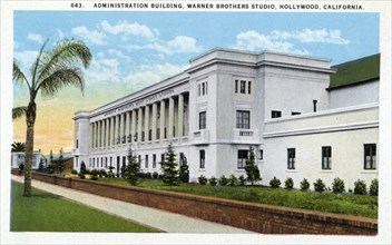 Administration building, Warner Brothers Studios, Hollywood, Los Angeles, California, USA, 1925. Artist: Unknown