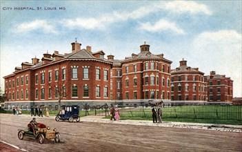 City Hospital, St Louis, Missouri, USA, 1910. Artist: Unknown