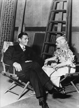 Clark Gable and Jean Harlow, American actors and film stars, 1930s. Artist: Unknown