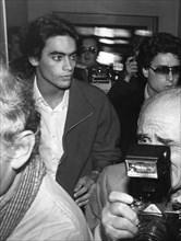 Anthony Delon, son of actors Alain Delon and Nathalie Delon, c1980s(?). Artist: Unknown