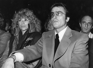 Alain Delon, Mireille Darc, 1981