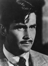 American actor James Brolin as Clark Gable in 'Gable and Lombard', 1976. Artist: Unknown