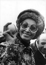 Italian actress Sophia Loren, Marino, Italy, c1960s-c1970s(?). Artist: Unknown