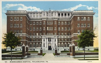 Misericodia Hospital, Philadelphia, Pennsylvania, USA, 1926. Artist: Unknown