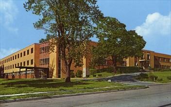 Osteopathic hospital, St Louis, Missouri, USA, 1960. Artist: Unknown