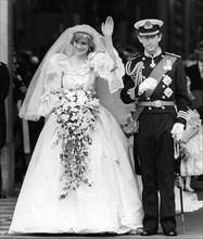 Royal Wedding, London, 1981. Artist: Unknown