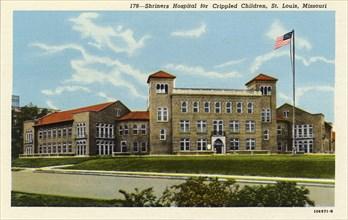Shriners' Hospital for Crippled Children, St Louis, Missouri, USA, 1925. Artist: Unknown