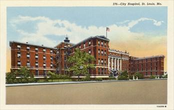 City Hospital, St Louis, Missouri, USA, 1926. Artist: Unknown