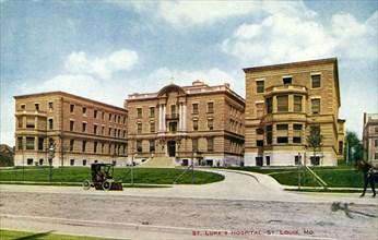 St Luke's Hospital, St Louis, Missouri, USA, 1910. Artist: Unknown