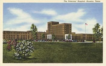 The Veterans' Hospital, Houston, Texas, USA, 1950. Artist: Unknown