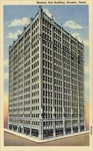 Medical Arts Building, Houston, Texas, USA, 1946. Artist: Unknown