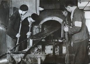 Crematorium, Natzweiler-Struthof German concentration camp, c1941-c1945. Artist: Unknown
