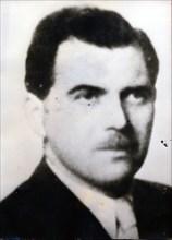 Josef Mengele, German SS officer, physician and war criminal, 20th century. Artist: Unknown