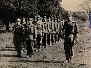 'Ferka', unit of the Algerian rebel army, Algerian War, c1954-c1962. Artist: Unknown