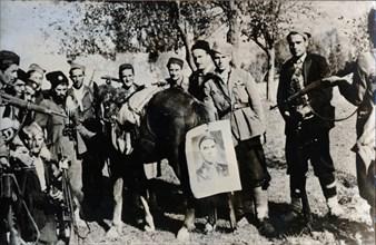 Mikhailovich partisans, Yugoslavia, 1939-1945. Artist: Unknown