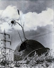A symbol of those that fall during war, c1945. Artist: Unknown