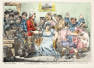 The Cow Pock or Wonderful Effects of the New Innoculation! ?, 1809.