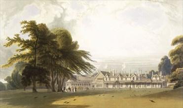 Windsor Park: the Royal Lodge, c1827-30. Creator: William Daniell (1769-1837).