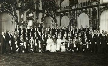 Sitting of the committee of Grand Duchess Tatiana Nikolaievna of Russia, early 20th century. Artist: Unknown
