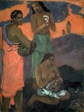 'Women on the Seashore (The Motherhood)', 1899. Artist: Paul Gauguin