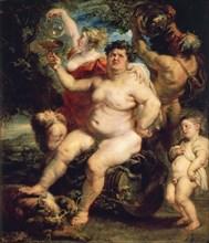 'Bacchus', 1638-1640.  Artist: Peter Paul Rubens