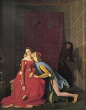 'Paolo and Francesca', 1819.  Artist: Jean-Auguste-Dominique Ingres