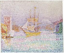 'The Harbour at Marseilles', 1907.  Artist: Paul Signac