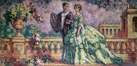 'The Walk', 1911.  Artist: Charles Guerin