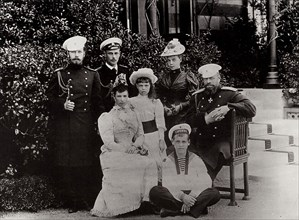 The Russian Imperial family, c1892-c1894. Artist: Unknown