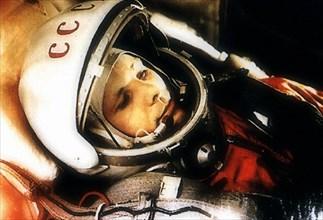 Yuri Gagarin, Russian cosmonaut, 1961. Artist: Unknown