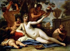 'Bacchante and Satyrs', c1713. Artist: Sebastiano Ricci