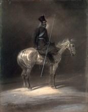 'Cossack on Horseback', 1837.  Artist: Franz Kruger