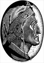 Dante Alighieri (1265-1321), 1918.
