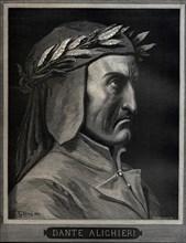 Dante Alighieri (1265-1321), 1860.  Creator: Doré, Gustave (1832-1883).