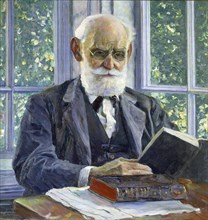 Portrait of the physiologist,  psychologist and physician