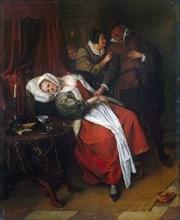 Steen, 'Doctor's Visit'