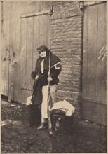 Nadezhda Teffi (1872-1952) as Nurse during World War I, 1915.