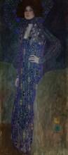 Portrait of Emilie Flöge, 1902. Artist: Klimt, Gustav (1862-1918)