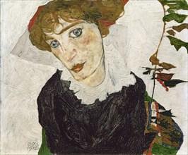 Portrait of Wally Neuzil, 1912. Artist: Schiele, Egon (1890?1918)