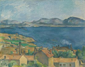 The Bay of Marseilles, Seen from L'Estaque, ca 1885. Artist: Cézanne, Paul (1839-1906)