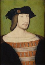 Portrait of Francis I (1494-1547), King of France, Duke of Brittany, Count of Provence, 1515. Artist: Clouet, Jean (c. 1485-1541)