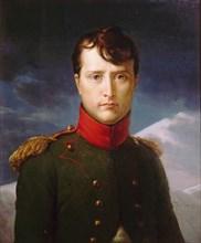 Portrait of Napoleon Bonaparte as First Consul, 1803. Artist: Gérard, François Pascal Simon (1770-1837)
