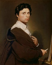 Self-portrait, 1804. Artist: Ingres, Jean Auguste Dominique (1780-1867)