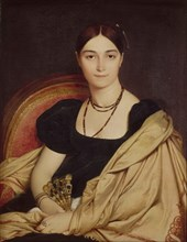 Portrait of Madame Duvaucey, 1807. Artist: Ingres, Jean Auguste Dominique (1780-1867)