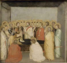 The Death of the Virgin, ca 1335. Artist: Maso di Banco (?-1348)