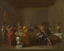 Seven Sacraments: Extreme Unction, ca 1637-1640. Artist: Poussin, Nicolas (1594-1665)