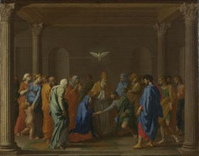 Seven Sacraments: Marriage, ca 1637-1640. Artist: Poussin, Nicolas (1594-1665)