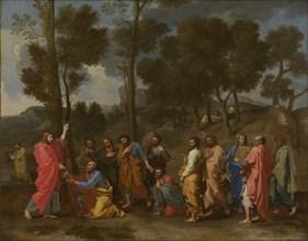 Seven Sacraments: Ordination, ca 1637-1640. Artist: Poussin, Nicolas (1594-1665)